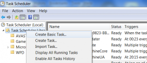 Steam FIX For VERY slow Steam loading times on Windows 7 - Add to Windows Task Scheduler.