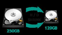 Hard Drive Shrinking Windows 7 / 8 / 8.1