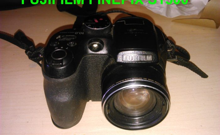 Fujifilm Finpix S1500 Battery Cover Fix Tutorial